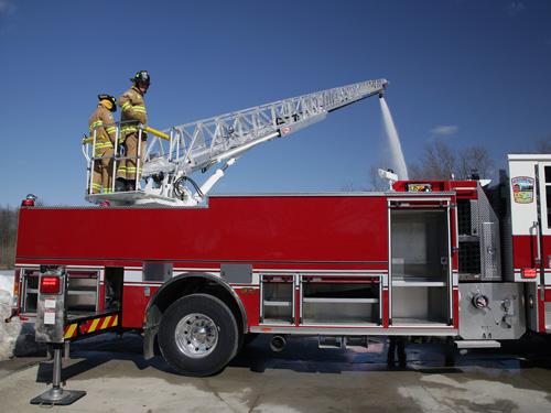 Pierce 75 Aluminum Aerial Ladders