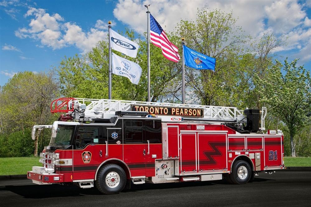 pierce 75 u0026 39  aluminum aerial ladders