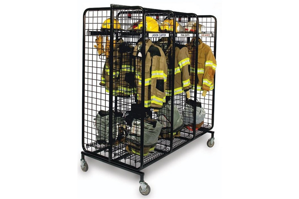 Gear Grid 6 Pack Mobile Locker System